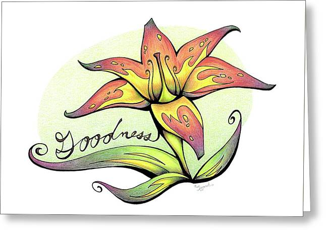 Fruit Of The Spirit Series 2 Goodness Greeting Card
