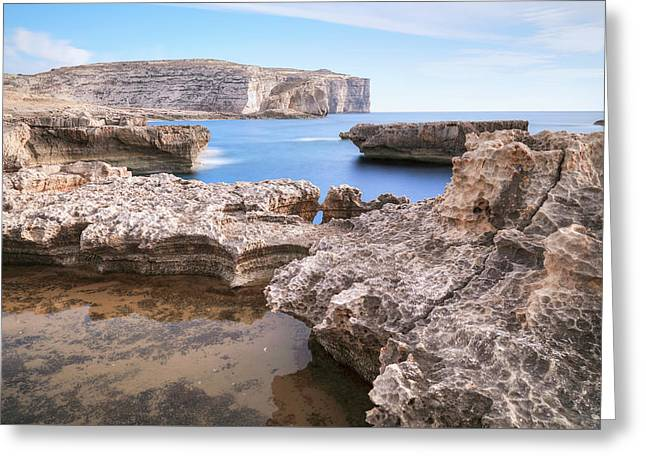 Fungus Rock - Gozo Greeting Card
