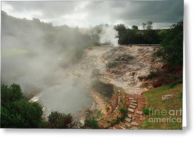 Furnas Volcano - Azores Greeting Card by Gaspar Avila