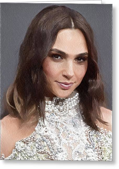 Gal Gadot Greeting Card by Best Actors