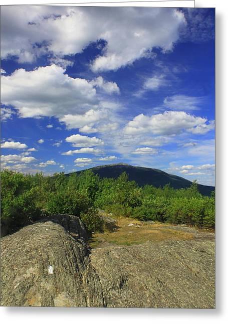 Gap Mountain Mount Monadnock Greeting Card