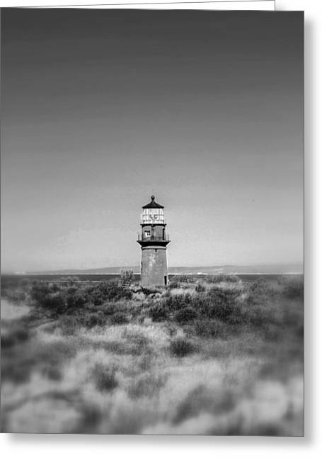 Gay Head Light Greeting Card by Greg DeBeck