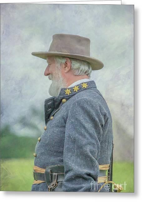 General Robert E. Lee Greeting Card by Randy Steele