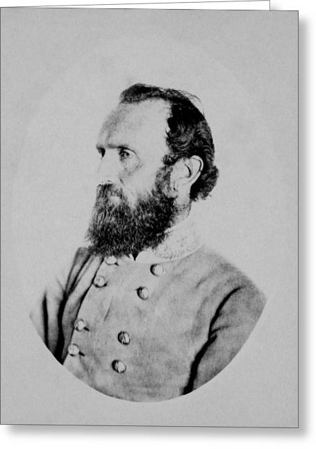 General Thomas Stonewall Jackson Greeting Card
