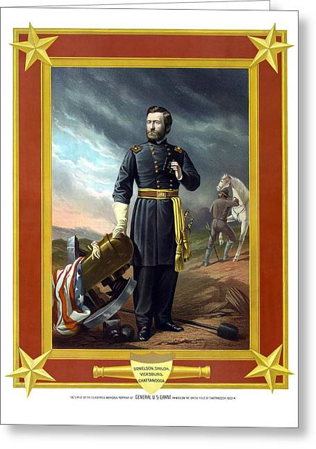 General Us Grant Greeting Card