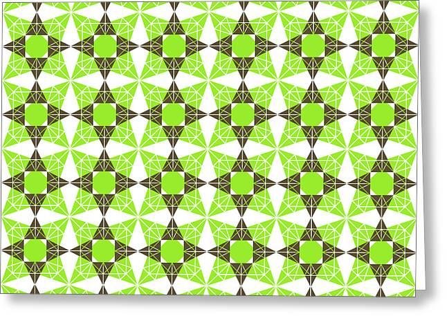 Geometric Pattern Greeting Card