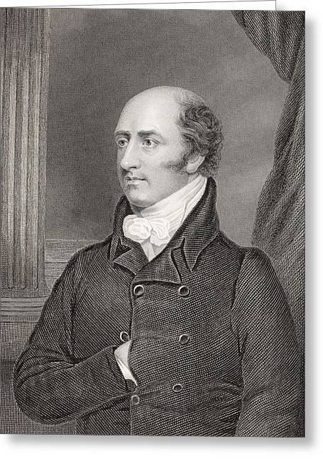 George Canning, 1770 To 1827. British Greeting Card by Vintage Design Pics