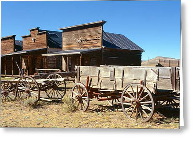 Ghost Town, Cody, Wyoming Greeting Card by Panoramic Images
