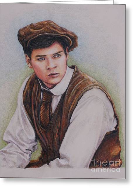 Gilbert Blythe / Jonathan Crombie Drawing by Christine Jepsen