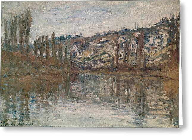 Giverny Greeting Card by Claude Monet