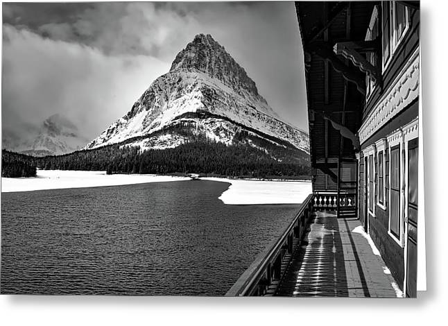 Glacier National Park Greeting Card by N P S