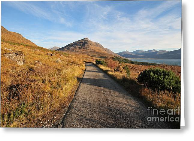Glen Torridon Greeting Card