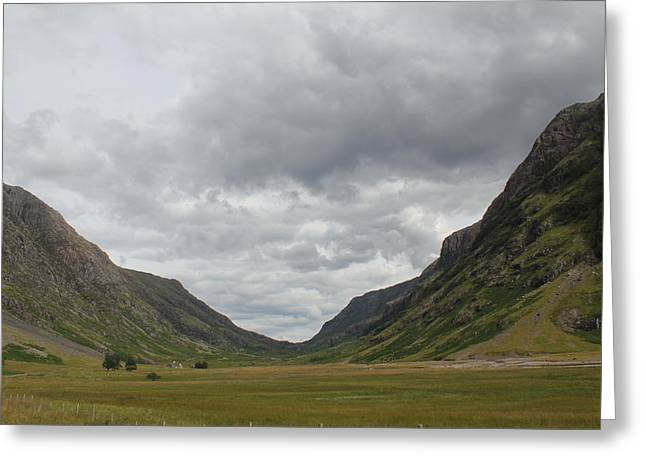 Greeting Card featuring the photograph Glencoe Pass  by David Grant
