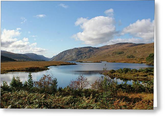 Glenveagh National Park, County Donegal, Ireland. Greeting Card
