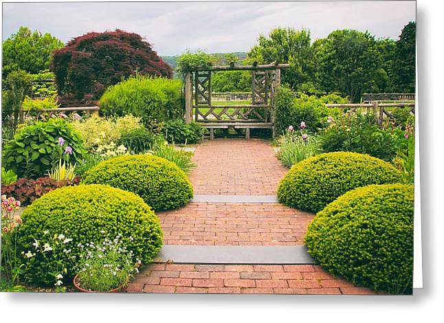 Glorious Garden Greeting Card