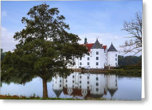 Gluecksburg Castle - Germany Greeting Card