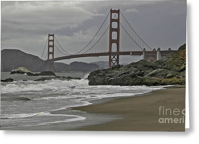 Golden Gate Study #1 Greeting Card