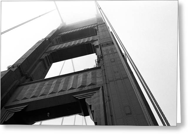 Golden Gate Tower 2 Greeting Card