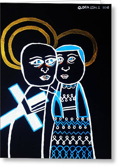 Good Friday Greeting Card by Gloria Ssali