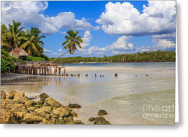 Gordon Pass Naples Florida Greeting Card