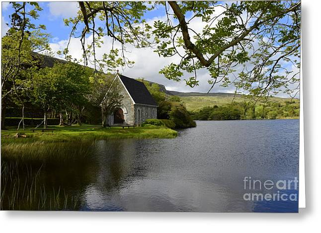 Gougane Barra  Greeting Card by Joe Cashin