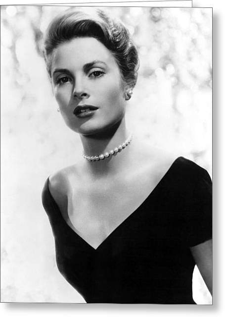 Grace Kelly Greeting Card