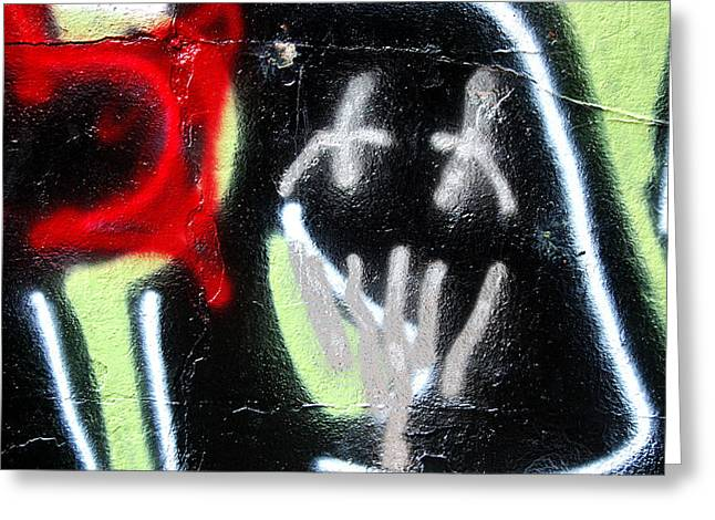 Graffiti Fort Armistead Baltimore Maryland Greeting Card by Wayne Higgs