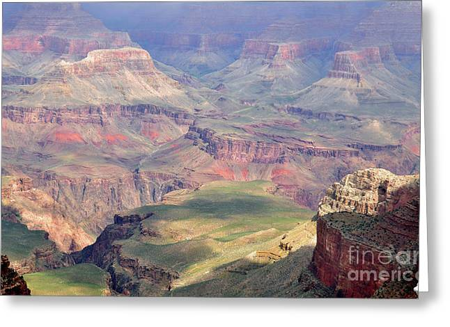 Grand Canyon 2 Greeting Card by Debby Pueschel