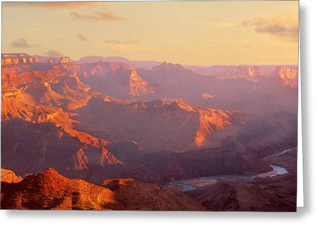 Grand Canyon, Arizona, Usa Greeting Card by Panoramic Images