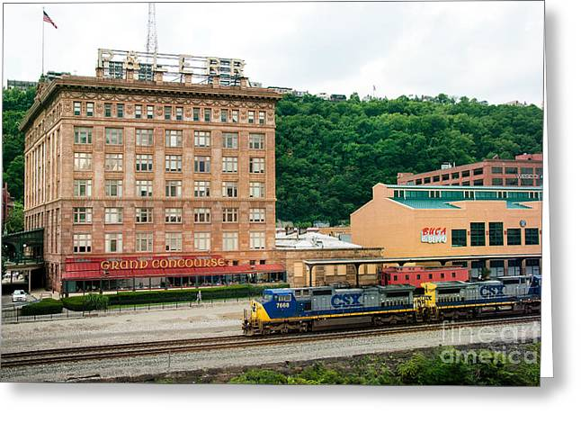 Grand Concourse Station Square Pittsburgh Pennsylvania Greeting Card