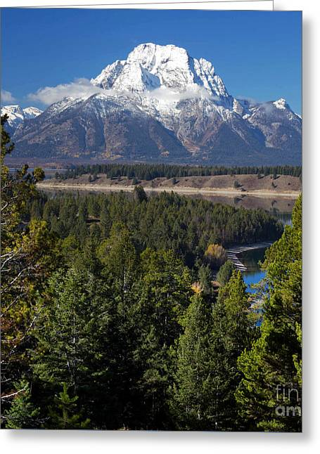 Grand Teton Greeting Card