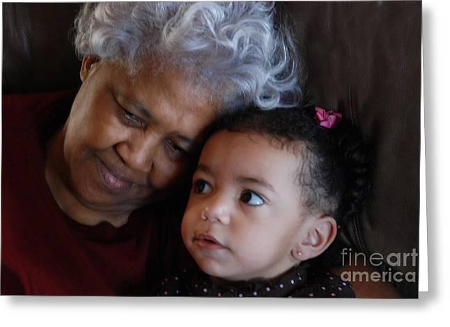 Grandma Greeting Card by Jim Wright