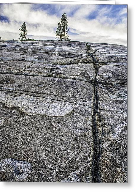 Granite Expanse Greeting Card