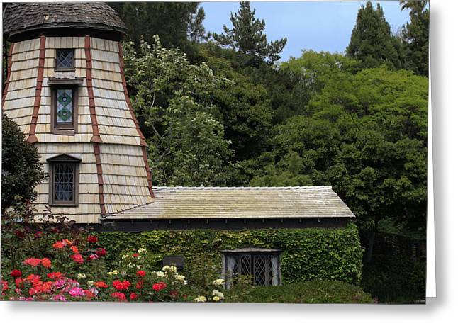 Greeting Card featuring the photograph Green House by Ivete Basso Photography