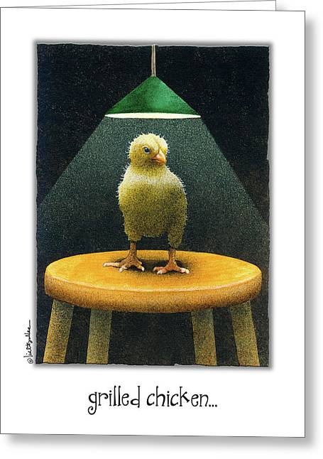 Grilled Chicken... Greeting Card