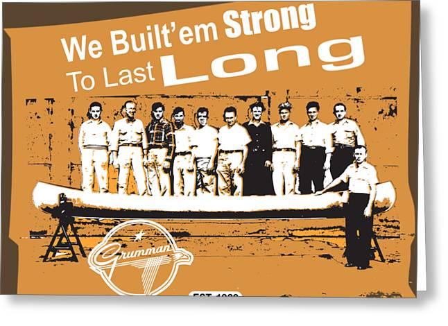 Grumman Canoe Greeting Card