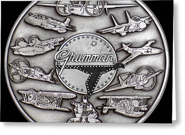 Grumman Coin Greeting Card
