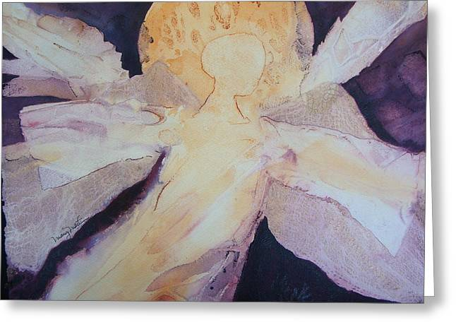 Guardian For The Girls Greeting Card by Mary Martin