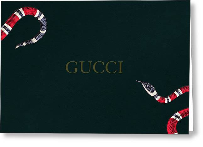 Gucci Greeting Cards