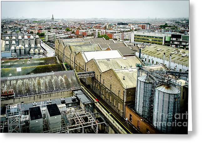 Guinness Brewery In Dublin Greeting Card