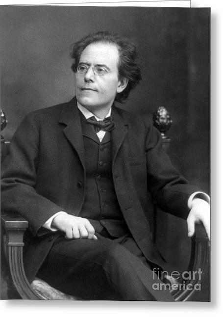 Gustav Mahler, Austrian Composer Greeting Card