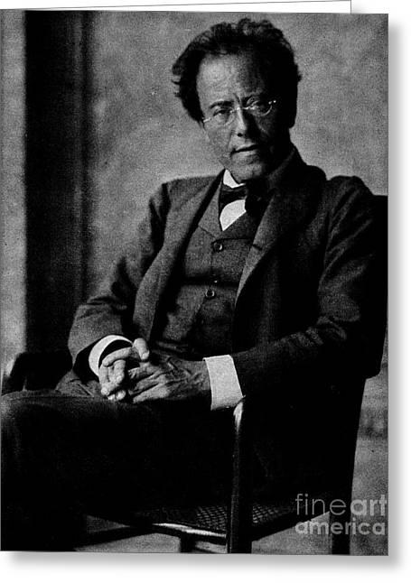 Gustav Mahler Greeting Card by Austrian School