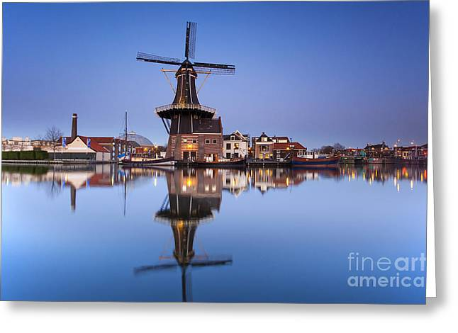 Haarlem Greeting Card by Andre Goncalves