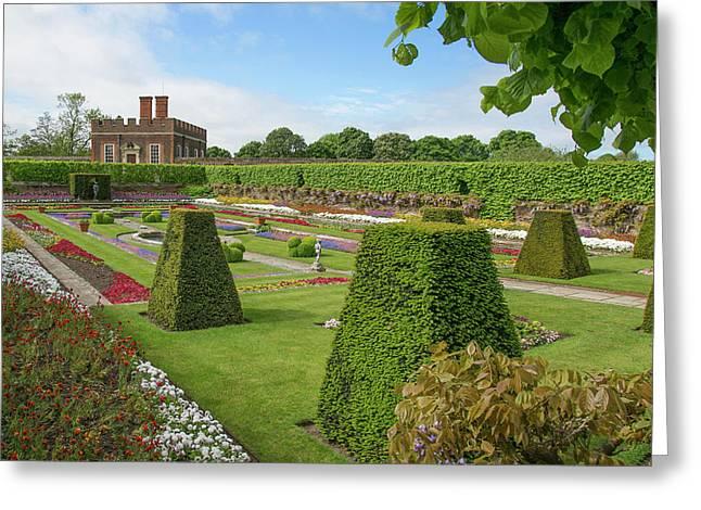 Greeting Card featuring the photograph Hampton Palace Gardens by Elvira Butler
