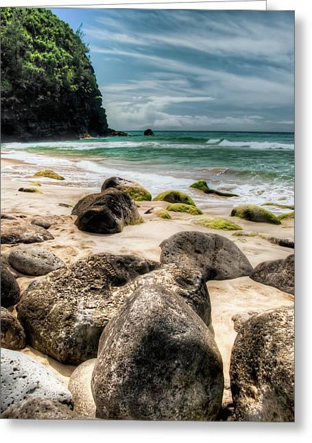 Hanakapi'ai Beach Greeting Card