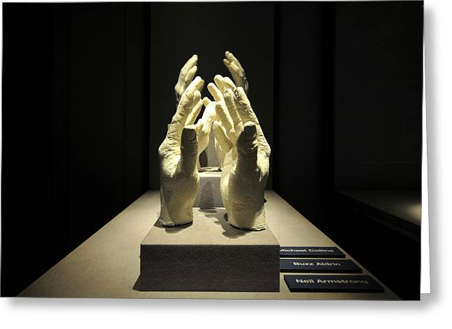 Hands Of Apollo Greeting Card by David Lee Thompson
