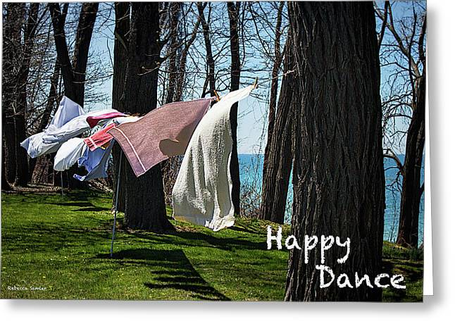 Happy Dance Greeting Card