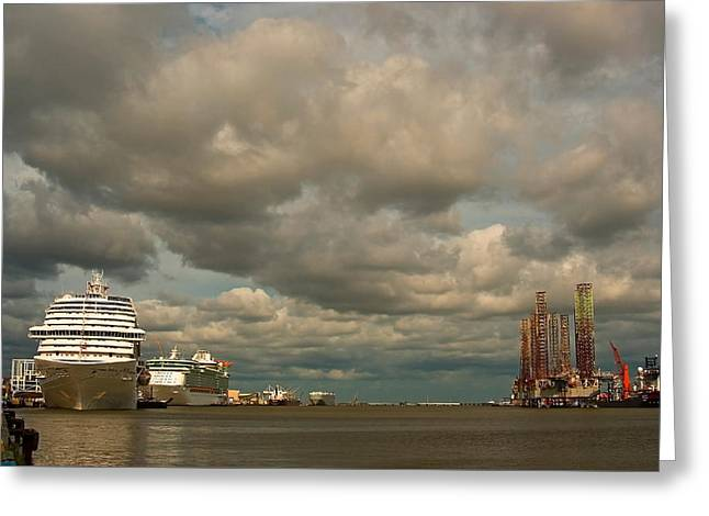 Harbor Storm Greeting Card