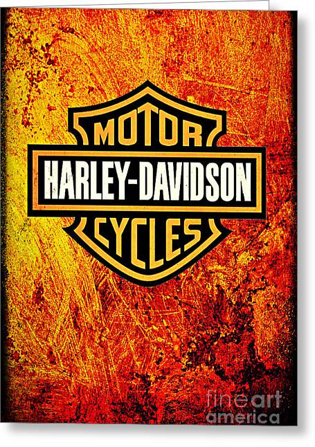 Harley-davidson Greeting Card