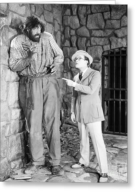 Harold Lloyd (1889-1971) Greeting Card